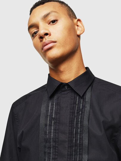 Diesel - S-PLIS, Black - Shirts - Image 3