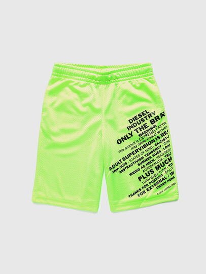 Diesel - PFRAKLE, Green Fluo - Shorts - Image 1