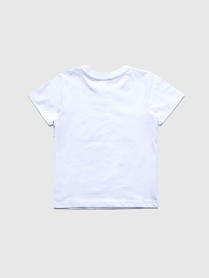 Diesel - TDIEGOS3B-R, White - T-shirts and Tops - Image 2