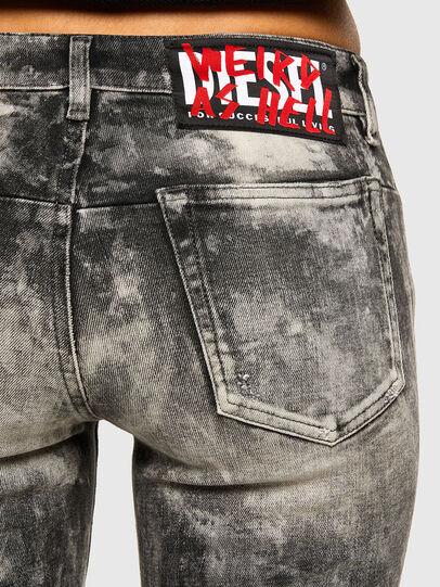 Diesel - D-Jevel 009FG, Light Grey - Jeans - Image 4