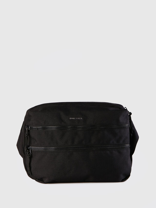 Diesel - F-URBHANITY CROSSBOD, Black - Backpacks - Image 1