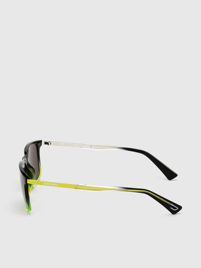 Diesel - DL0312, Black/Yellow - Sunglasses - Image 3