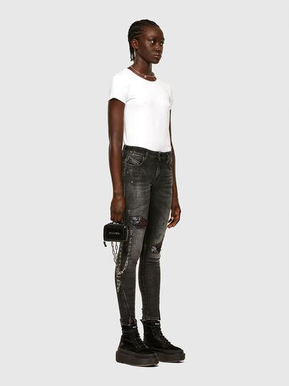 Diesel - T-CHAIN, White - T-Shirts - Image 5