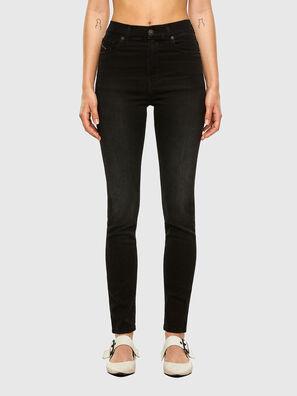 D-Roisin High 069MZ, Black/Dark grey - Jeans