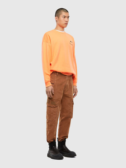 Diesel - S-MART-FLU, Orange - Sweaters - Image 5