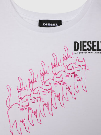 Diesel - TLOPPIB-R, White - T-shirts and Tops - Image 3