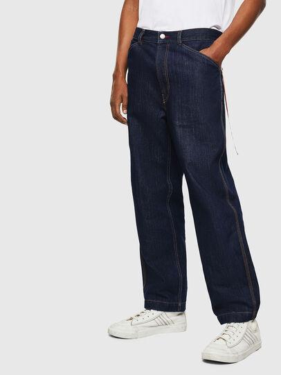 Diesel - CC-D-FRANK, Dark Blue - Pants - Image 1