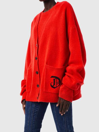 Diesel - M-LOUISIANA, Orange - Knitwear - Image 3