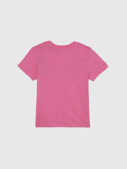 Diesel - TJUSTLOGOB-FL MC-R, Pink - T-shirts and Tops - Image 2