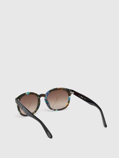 Diesel - DM0190, Blue/Black - Sunglasses - Image 2