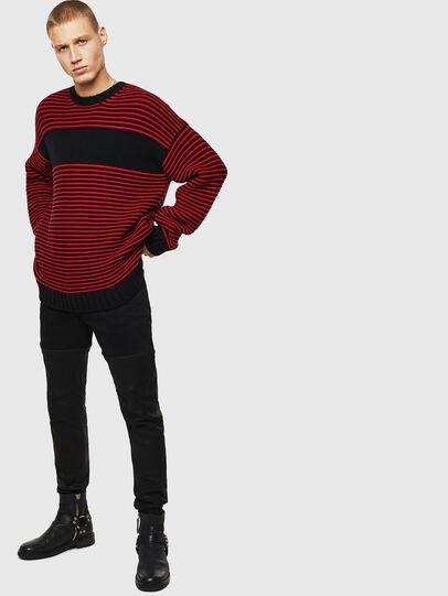 Diesel - K-BALLIS, Red/Black - Knitwear - Image 8