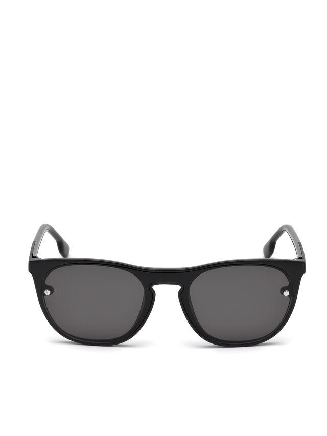 Diesel - DL0217, Black - Eyewear - Image 1