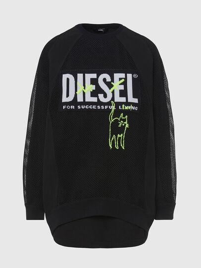 Diesel - M-PORTIA, Black - Knitwear - Image 1