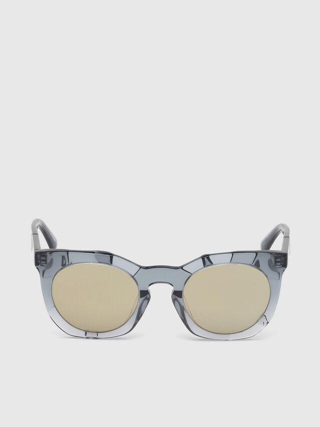 Diesel DL0270, Grey - Eyewear - Image 1