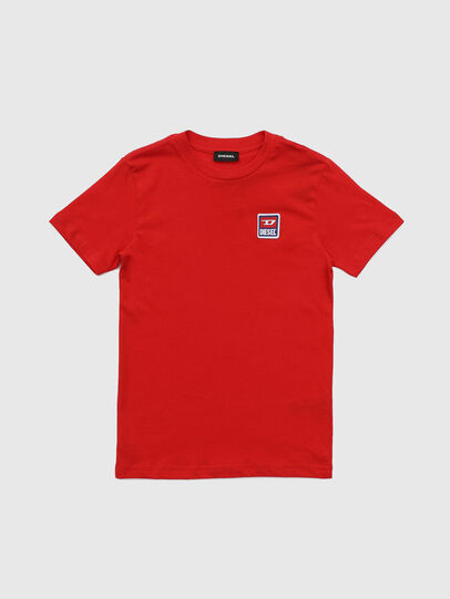 Diesel - TDIEGODIV, Red - T-shirts and Tops - Image 1