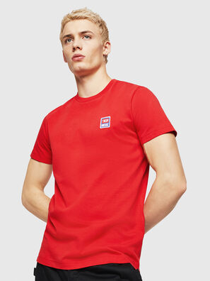T-DIEGO-DIV, Fire Red - T-Shirts