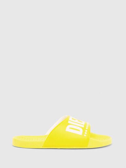 Diesel - FF 01 SLIPPER YO, Yellow - Footwear - Image 1