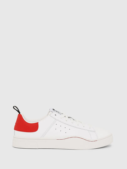 Diesel - S-CLEVER LOW, White/Red - Sneakers - Image 1