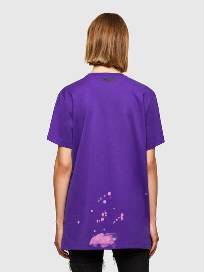 Diesel - T-AIRO, Violet - T-Shirts - Image 2