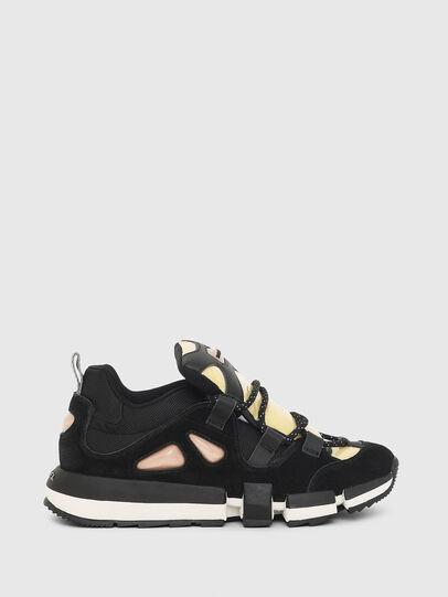 Diesel - H-PADOLA SL W, Black/Yellow - Sneakers - Image 1