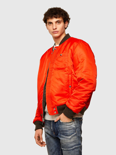 Diesel - J-ROSS-REV, Brown - Jackets - Image 7