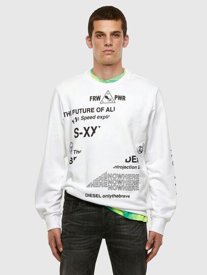 Diesel - S-GIRK-FOLDED, White - Sweaters - Image 5