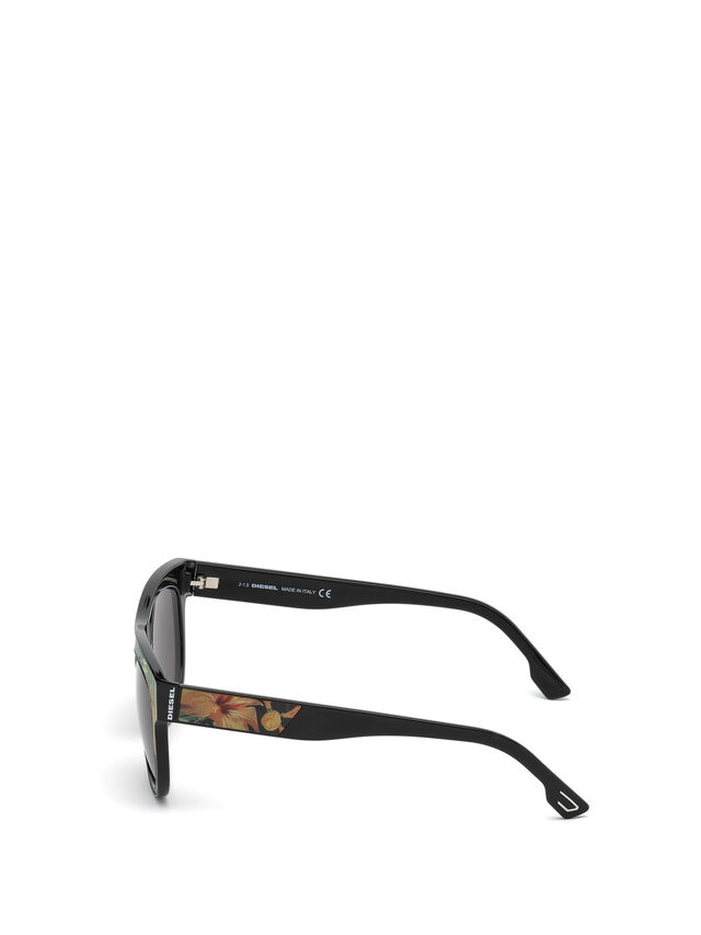 Diesel DM0160, Black/Orange - Eyewear - Image 3