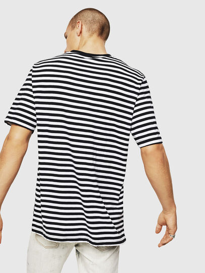 Diesel - T-VIKTOR, Black/White - T-Shirts - Image 2