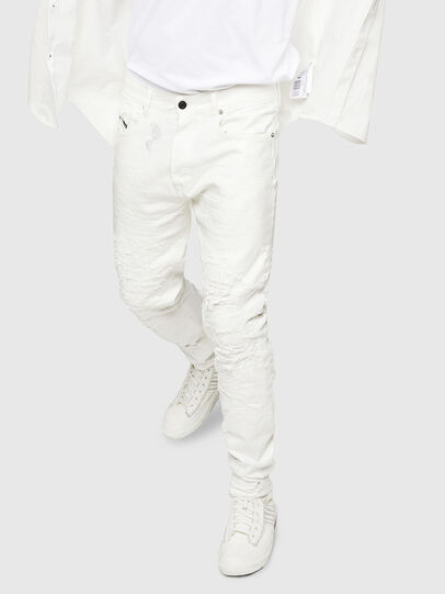 Diesel - Mharky 069GY, White - Jeans - Image 4