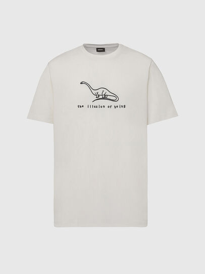 Diesel - T-JUST-X61, White - T-Shirts - Image 1