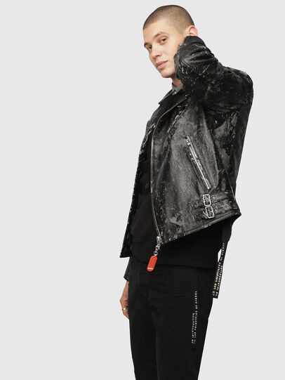 Diesel - L-KRAMPIS-A,  - Leather jackets - Image 3