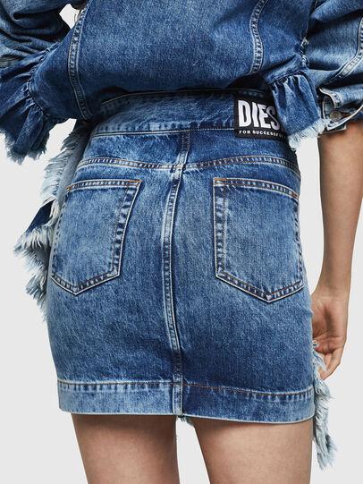Diesel - DE-AGGIE, Medium blue - Skirts - Image 2