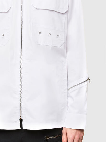 Diesel - S-KULT, White - Shirts - Image 4
