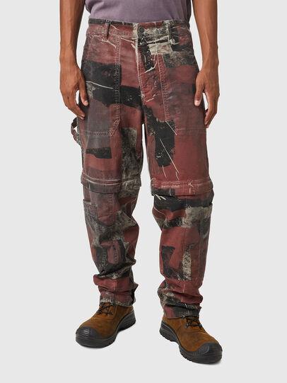 Diesel - D-Multy JoggJeans® 0CEAM, Pink/Black - Jeans - Image 1