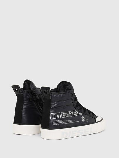 Diesel - SN MID 07 MC LOGO YO, Black - Footwear - Image 3