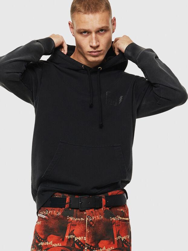 S-GIRK-HOOD-SUN, Black - Sweaters