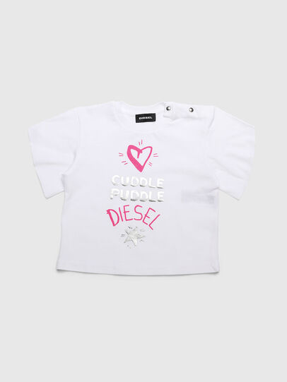 Diesel - TUNGIB, White - T-shirts and Tops - Image 1