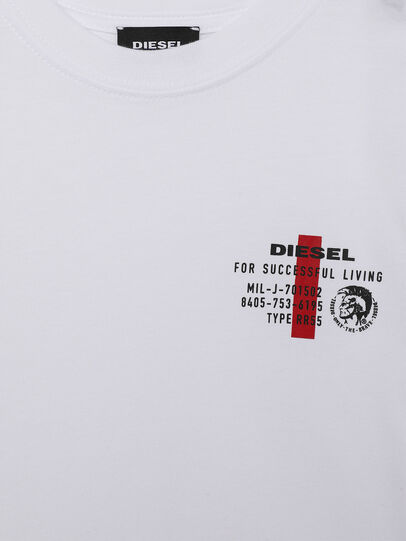 Diesel - UMLT-TDIEGOS, White - T-shirts and Tops - Image 3