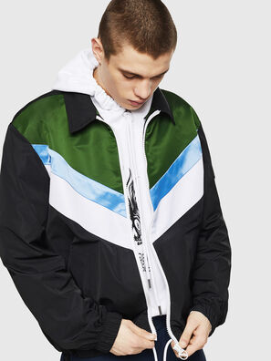 J-LISOV, Black/Green - Jackets