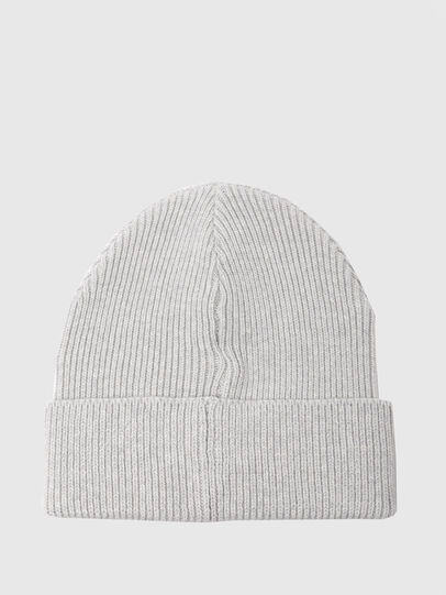Diesel - K-CODER, Light Grey - Knit caps - Image 2