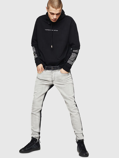 Diesel - Sleenker 082AX, Black/Dark grey - Jeans - Image 6