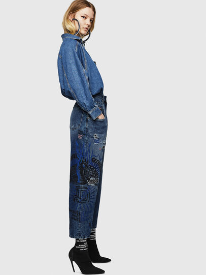 Diesel - Widee 0092Z, Medium blue - Jeans - Image 7