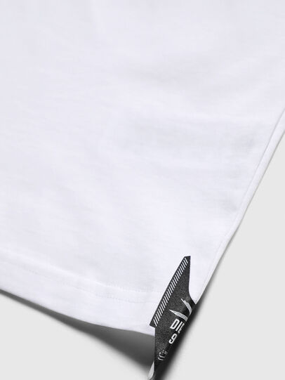 Diesel - TJUSTY7, White - T-shirts and Tops - Image 4
