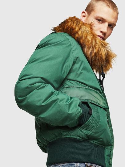 Diesel - W-BURKISK, Green - Winter Jackets - Image 4