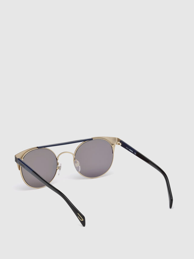 Diesel - DL0218, Black/Blue - Sunglasses - Image 2