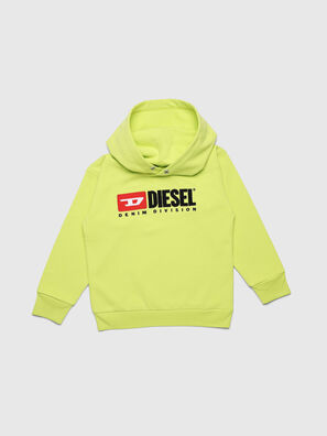 SDIVISION OVER, Yellow Fluo - Sweaters