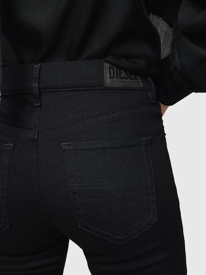 Diesel - D-Roisin 069EF, Black/Dark grey - Jeans - Image 3
