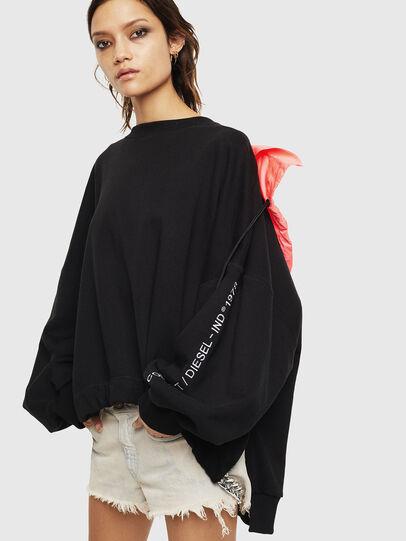 Diesel - F-JUSTIN, Black - Sweaters - Image 4