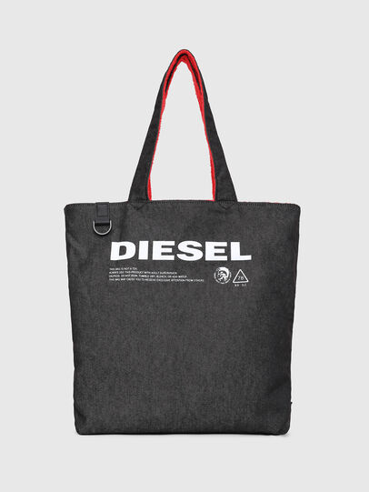 Diesel - F-THISBAG SHOPPER NS, Fire Red - Shopping and Shoulder Bags - Image 5