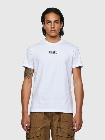 Diesel - T-DIEGOS-ECOSMALLOGO, White - T-Shirts - Image 1